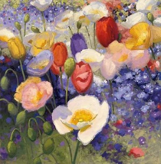 Tulip and poppy party