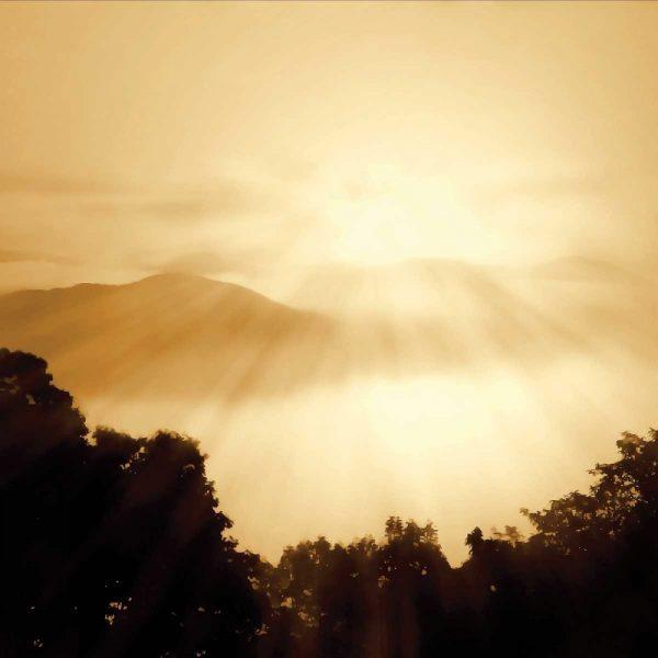 Distant Mountains Sq I