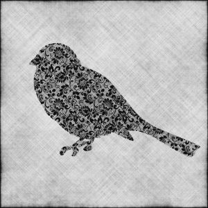 Brocade Bird I