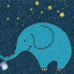 Whimsy Elephant I