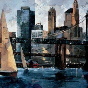 Sailboats in Manhattan II