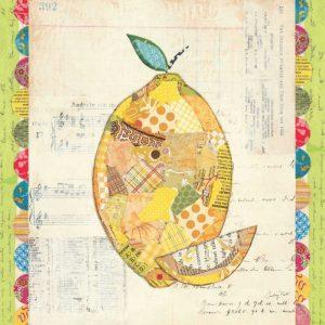 Fruit Collage II - Lemon