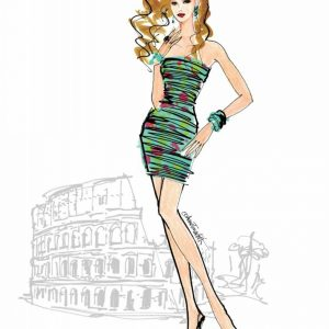 Colorful Fashion IV - Rome