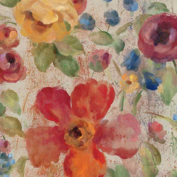April Rain Flowers II