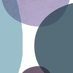 MidCentury Teal Purple 3