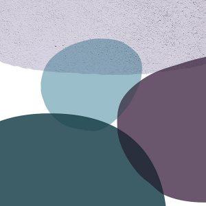 MidCentury Teal Purple 9