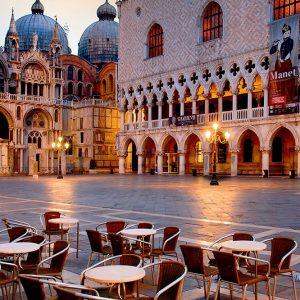 Piazza San Marco At Sunrise #2