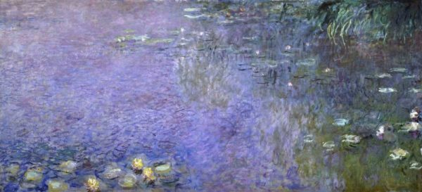 Water Lilies: Morning, c. 1914-26 - center-right panel