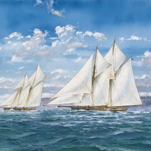 Sloops and Sail I