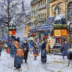 Old Paris in Winter I