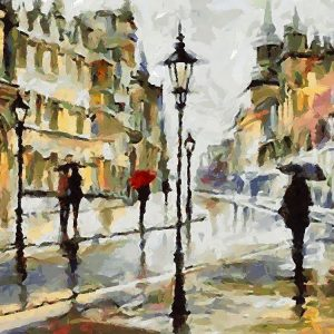 Raining Day in the City