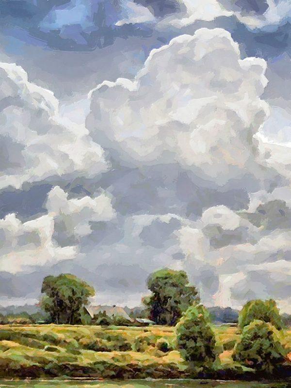 White Clouds I