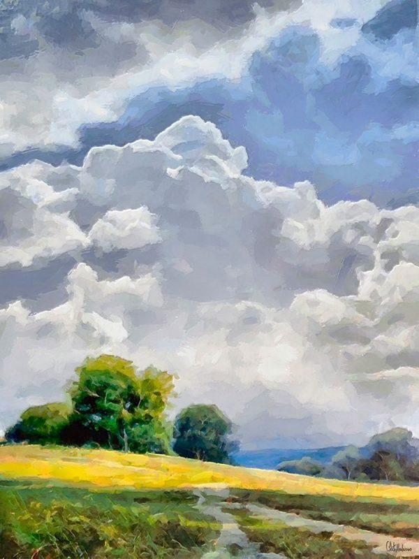 White Clouds III