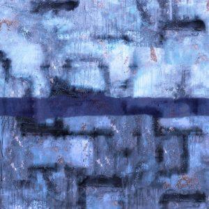 Blue Abstract XXVIIII