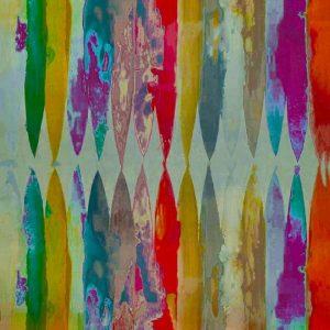 Abstract Silk- Florecent