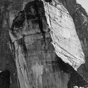 Rock formation-Light Sky Zion National Park-Utah