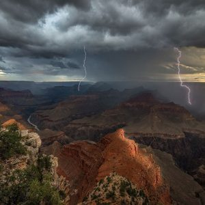 Mohave Point Thunderstorm