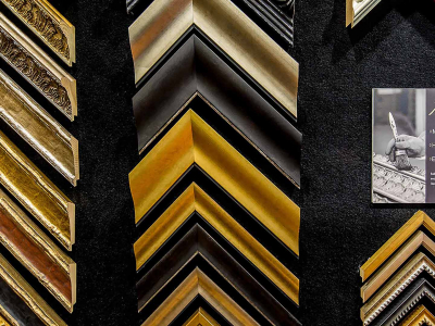 What does custom picture framing achieve?